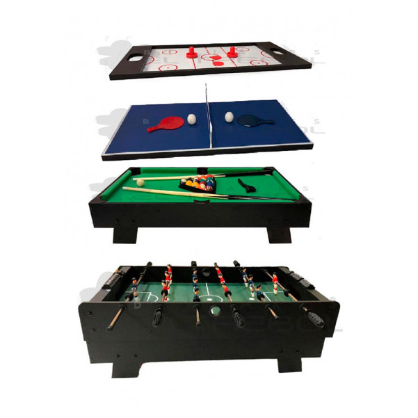Mesa Multijuegos 4 en 1 Junior